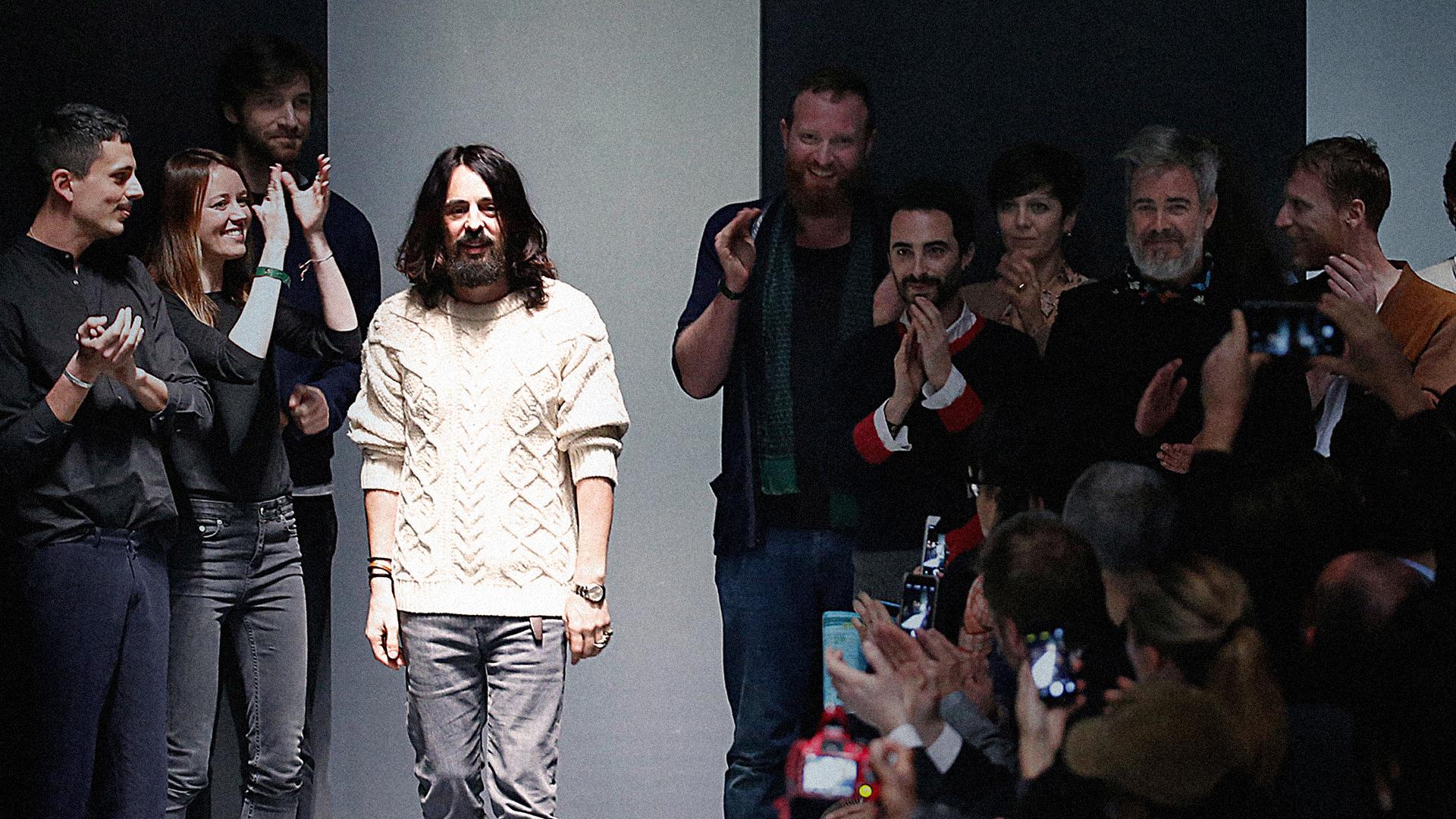 Alessandro michele gucci fall 2015 show for Gucci alessandro michele