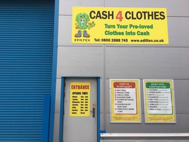 Cash For Clothes In Bridgend CF313YH